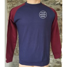 Blues and Royals Baseball Sweatshirt