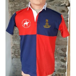 The Life Guards Short Sleeve Quarters Rugby Shirt